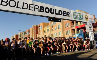 GeoVisual field tests mobile data collection at Bolder Boulder 10K race