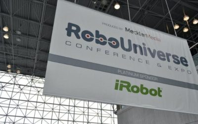 GeoVisual takes 2nd Prize at the RoboUniverse 2015 Pitch Competition