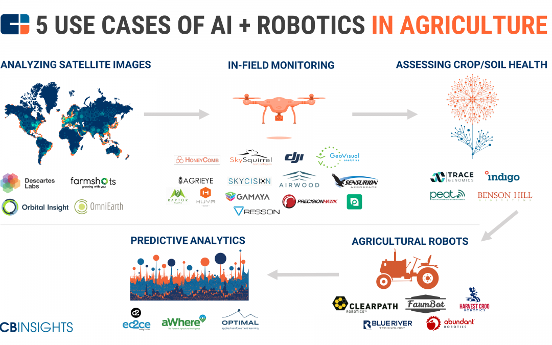 GeoVisual featured in CB InSights market map of companies bringing AI and robotics to agriculture